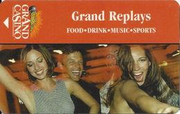 Grand Casino - Hotel Room Key Card - Hotel Keycards