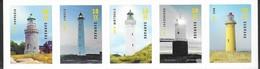 DENMARK , 2019, MNH,LIGHTHOUSES, 5v - Lighthouses