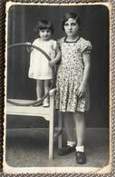 Bambina Con Cerchio Fotografia ZAMPERIOLO SPILIMBERGO - Personnes Anonymes
