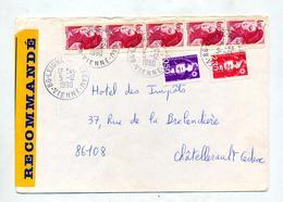 Lettre Recommandée Leigne Sur Mer Sur Gandon - Marcophilie (Lettres)