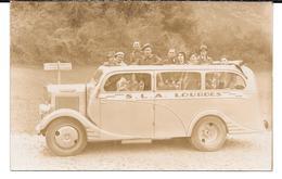 Cpa Photo Lourdes / S.L.A. -  Mini Bus Transport Touristes . - Lourdes