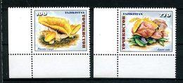 TADJIKISTAN 1999 N° 128/129 ** Neufs MNH  Superbes C 3 €  Flore Champignons Mushrooms Lepista - Tadjikistan