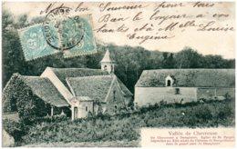 78 Vallée De Chevreuse - De Chevreuse à Dampierre. Eglise De SAINT-FORGET - Frankrijk