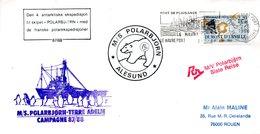 FRANCE. Enveloppe Commémorative De 1988. Polar Björn En Terre Adélie. - Autres