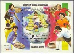 Togo 1998 - Football World Cup France 98 Miniature Sheet Mnh - Togo (1960-...)