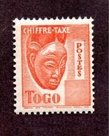 Togo Taxe N°36a N**  LUXE Cote 120 Euros !!!RARE - Togo (1914-1960)
