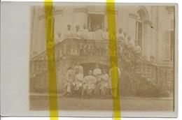 59 NORD AVESNES LE SEC CANTON DENAIN LAZARETT  CARTE PHOTO ALLEMANDE MILITARIA 1914/1918 WK1 WW1 - Francia