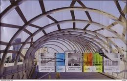 Australia S/S Bridge - Printed On Aluminium - Unusual - Scarce, Only 500 Issued - Bridges