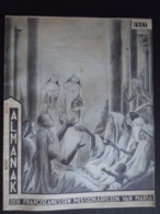 Belgie 1937 Almanak Der Franciscanessen Missionarissen Van Maria 66 Pag. 24,5 X 31 Cm - Calendriers