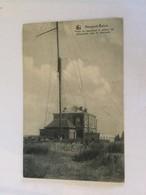 NIEUWPOORT 1912  NIEUPORT  BAINS  POSTE DE SAUVETAGE ET STATION DE TELEGRAPHE SANS FIL ( MARCONI ) - Nieuwpoort