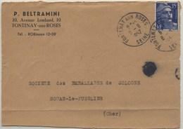 Double DAGUIN Solo Non Signalée - Fontenay Aux Bois - 1962 - Annullamenti Meccaniche (Varie)