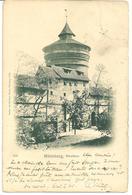 NURNBERG - NEUTHOR - WITH BAYERN PFENNIG EARLY STAMP 1898 - Feldberg