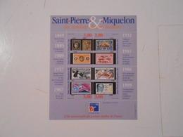 ST-PIERRE-ET-MIQUELON BF6 PHILEXFRANCE 99** - Blocs-feuillets