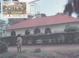 Transkei - Maximum Card Of 1983 - MiNr. 130 - Post Offices - Lusikisiki - Transkei