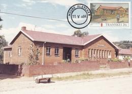 Transkei - Maximum Card Of 1984 - MiNr. 156 - Post Offices - Mount Fletcher - Transkei