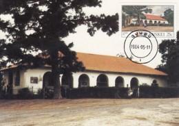 Transkei - Maximum Card Of 1984 - MiNr. 157 - Post Offices - Qumbu - Transkei