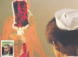 Transkei - Maximum Card Of 1984 - MiNr. 162 - Heroes Of Medicine - Karl Landsteiner - Transkei