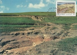 Transkei - Maximum Card Of 1985 - MiNr. 163 - Soil Conservation - Steppe - Transkei