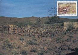 Transkei - Maximum Card Of 1985 - MiNr. 164 - Soil Conservation - Construction Of A Dyke - Transkei