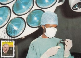 Transkei - Maximum Card Of 1985 - MiNr. 179 - Heroes Of Medicine - William Halsted - Transkei