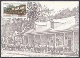 Transkei - Maximum Card Of 1986 - MiNr. 180 - Old Views Of Port St. Johns - Westgate Street - Transkei
