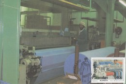 Transkei - Maximum Card Of 1988 - MiNr. 220 - Ceiling Production - Weave - Transkei
