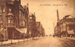 De Panne La Panne    Avenue De La Mer   Zeelaan  Hotel De La Digue Restaurant Zeedijk De Dijk   L 242 - De Panne