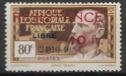 AEF 1944   N° 167  N* Charnière - A.E.F. (1936-1958)