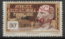 AEF 1944   N° 167  N* Charnière - Ungebraucht