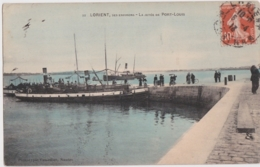Bv - Cpa La Jetée De PORT LOUIS - Lorient, Ses Environs (Vasselier, Nantes) - Port Louis