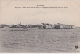 Bv - Cpa Vue Générale De PORT LOUIS Et Le Fort - Environs De Lorient (MTIL) - Prise De Kernevel - Port Louis