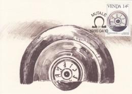 Venda - Maximum Card Of 1986 - MiNr. 138 - History Of The Writing - Etruscan Script - Venda