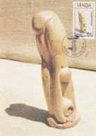 Venda - Maximum Card Of 1987 - MiNr. 155 - Wood Sculptures - Iron Master - Venda