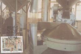 Venda - Maximum Card Of 1988 - MiNr. 170 - Coffee Industry - Venda