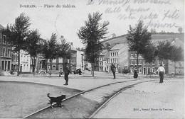 LIMBOURG. BILSTAIN.DOLHAIN. PLACE DU SABLON. ANIMATION, VUE RAILS DU TRAM - Limburg