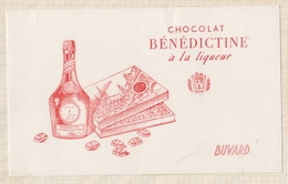 9/64  BUVARD CHOCOLAT BENEDICTINE A LA LIQUEUR - Liqueur & Bière