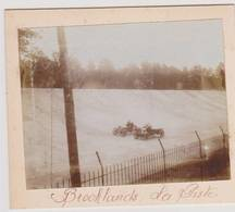 41188  -  Brooklands  La  Piste -  Course  Autos  -  Ancienne  Photo  Sur Carton  11,5  X  10 - Surrey