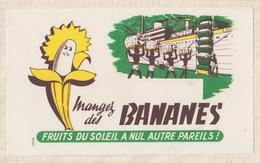 9/66  BUVARD MANGEZ DES BANANES - Food