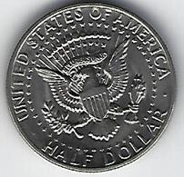 ETATS UNIS HALF DOLLAR 1972 - Émissions Fédérales