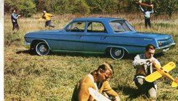 Chevrolet Biscayne 4-Door Sedan  -  1962  -  Factory/Dealer Advertising Postcard - CPSM - Voitures De Tourisme