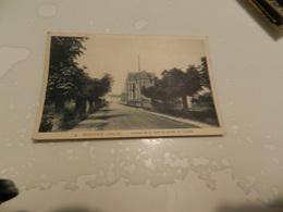 Cp  Herbignac  - Avenue De La Gare Et  Abside  De L église - Herbignac