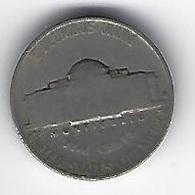 ETATS UNIS FIVE CENTS 1940 - Émissions Fédérales