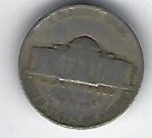 ETATS UNIS FIVE CENTS 1942 - Émissions Fédérales