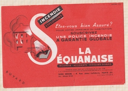 9/73  BUVARD LA SEQUANAISE - Banque & Assurance