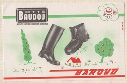 9/74  BUVARD BOTTE BAUDOU - Chaussures