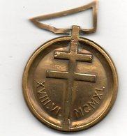 Médaille 18 Juin 1940    Patria Non Immemor - Medaglie
