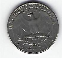 ETATS UNIS QUARTER DOLLAR 1965 - 1932-1998: Washington