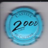 PLACA DE CAVA CASTELL DE CALDERS 2000  (CAPSULE) - Placas De Cava
