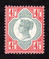 GRANDE-BRETAGNE - 1887/92 - Yvert N° 98 - NEUF ** Luxe MNH - 4 1/2 P. Victoria Jubilee Set - Unused Stamps