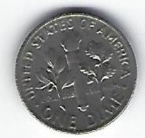 ETATS UNIS ONE DIME 1965 - Émissions Fédérales